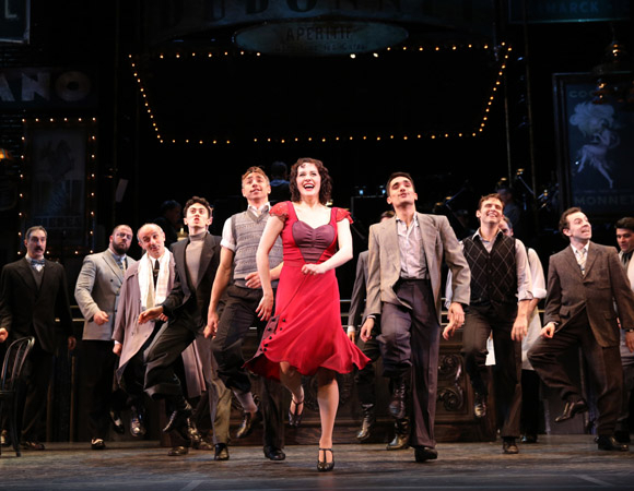 <p>Encores! welcomes <em>Irma La Douce</em> to New York City Center tonight.</p><br />(© Joan Marcus)
