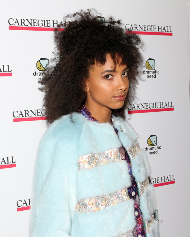 <p>Esperanza Spalding was one of the concert&#39&#x3B;s musical guests.</p><br />(© David Gordon)