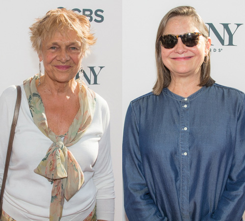 <p>Estelle Parsons and Cherry Jones were on hand to support the Special Award and Excellence in the Theatre Award recipients. </p><br />(© Seth Walters)