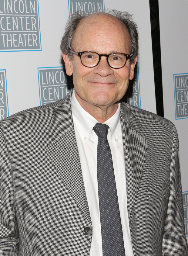 <p>Ethan Phillips is happy to celebrate his opening night.</p><br />(© David Gordon)