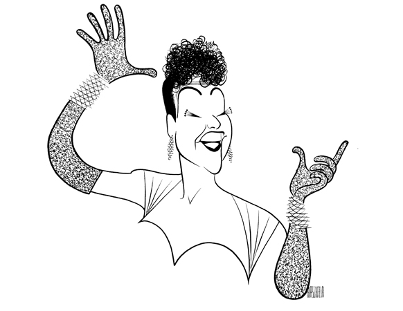 <p>Ethel Merman was the kind of performer Hirschfeld enjoyed drawing. Over a span of 59 years, he drew the legendary Broadway actress, known for such shows as <em>Call Me Madam</em> and <em>Gypsy</em>, more than 30 times.</p><br />courtesy of the Al Hirschfeld Foundation