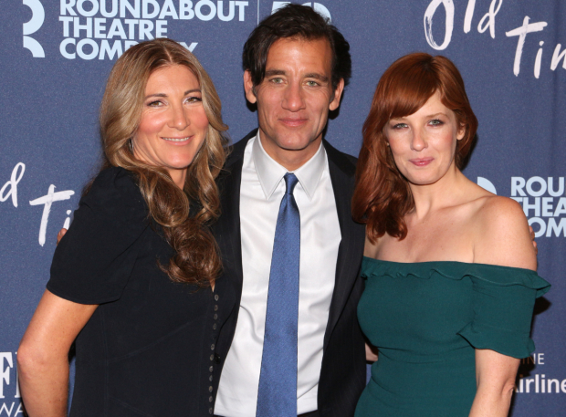<p>Eve Best, Clive Owen, and Kelly Reilly star in Roundabout Theatre Company&#39&#x3B;s revival of Harold Pinter&#39&#x3B;s <em>Old Times</em>.</p><br />(© David Gordon)