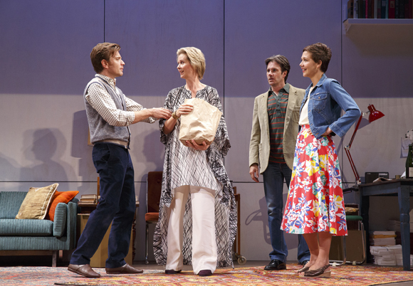 <p>Ewan McGregor, Cynthia Nixon, Josh Hamilton, and Maggie Gyllenhaal form the foursome at the center of <em>The Real Thing</em>.</p><br />(© Joan Marcus)