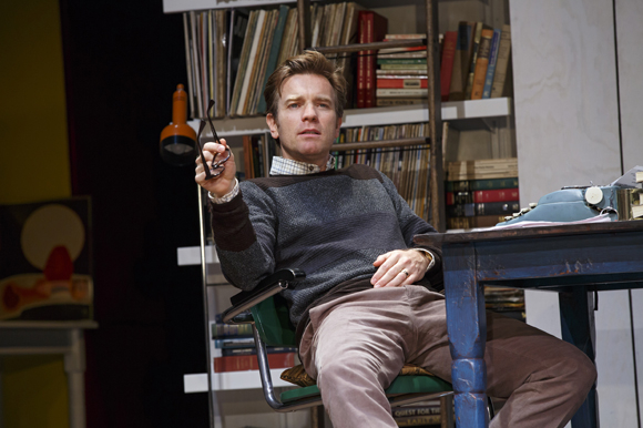 <p>Ewan McGregor plays Henry, a playwright, in Tom Stoppard&#39&#x3B;s <em>The Real Thing</em>. </p><br />(© Joan Marcus)