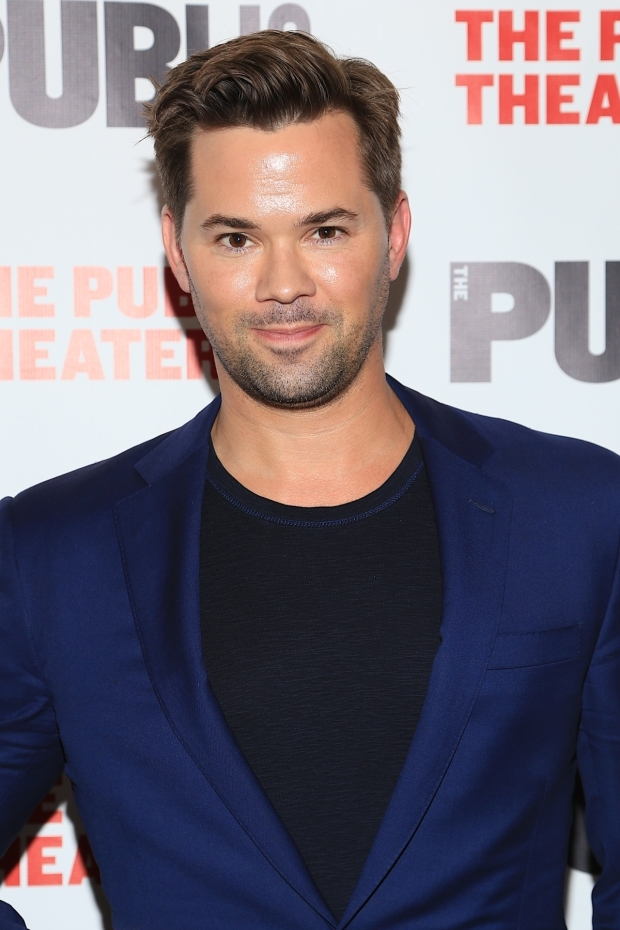 <p><em>Falsettos</em> star Andrew Rannells was in attendance.</p><br />(© Tricia Baron)