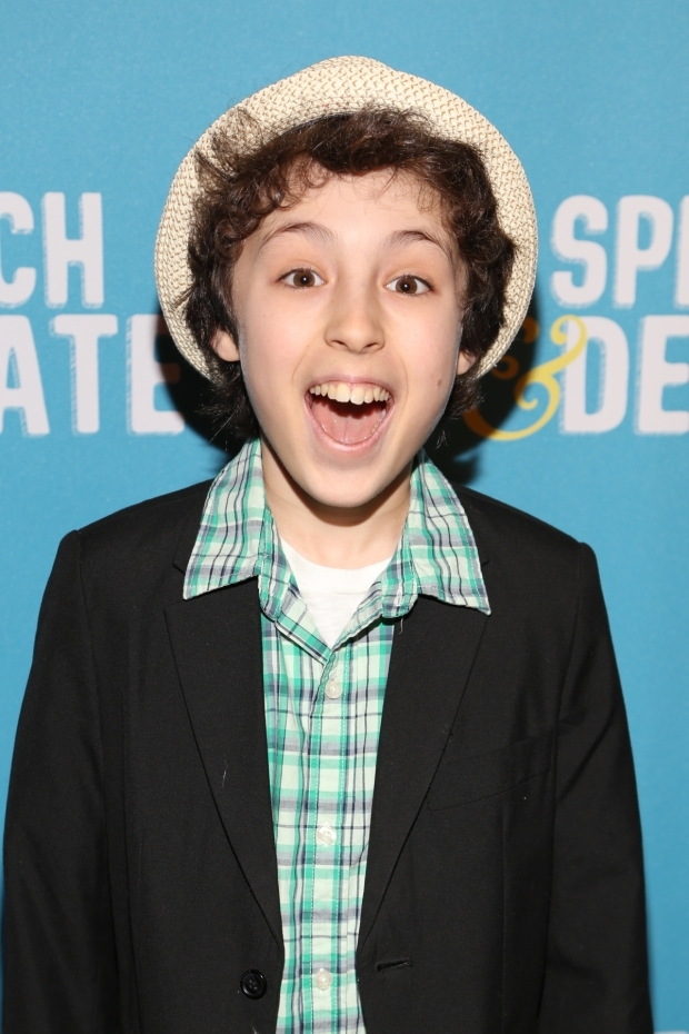<p><em>Falsettos</em> star Anthony Rosenthal had a great time at the opening.</p><br />(© Tricia Baron)