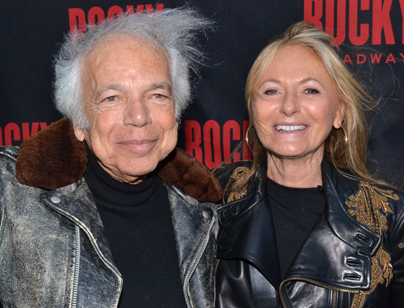 <p>Fashion designer Ralph Lauren arrives for the opening with his wife, Ricky.</p><br />(© David Gordon)