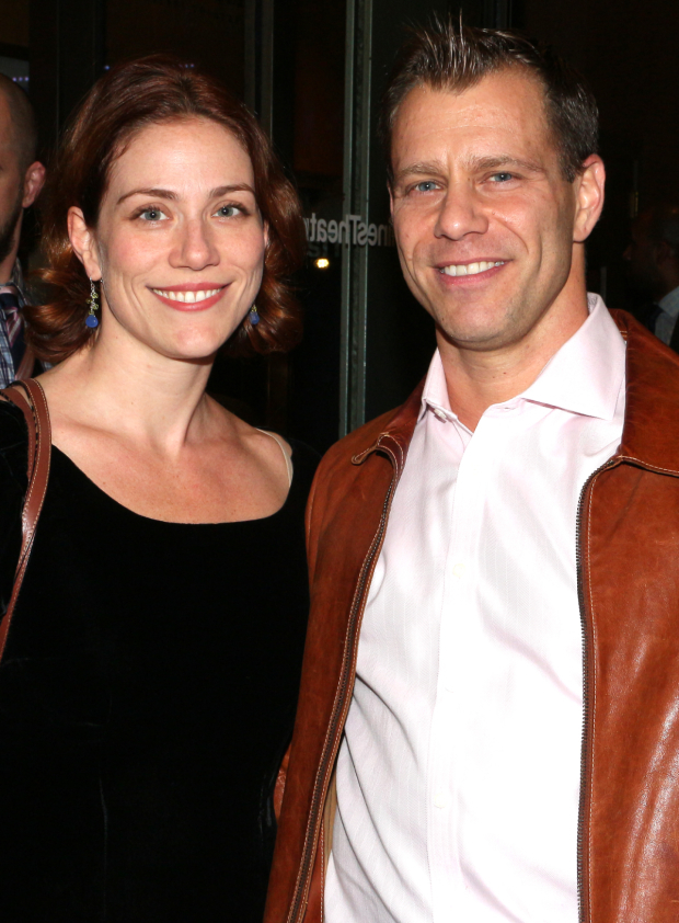 <p>Fiasco Theater cofounders Jessie Austrian and Noah Brody brought their production of <em>Into the Woods</em> to Roundabout&#39&#x3B;s Laura Pels Theatre earlier this year.</p><br />(© David Gordon)