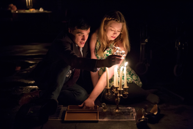 <p>Finn Wittrock and Madison Ferris take on the roles of the Gentleman Caller and Laura.</p><br />(© Julieta Cervantes)