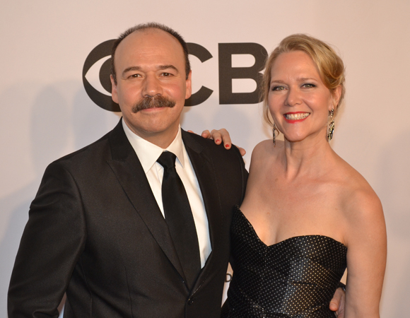 <p>Five-time Tony nominee Danny Burstein represents the cast of <em>Cabaret</em> at this year&#39&#x3B;s ceremony, and is joined by his three-time Tony-nominated wife, Rebecca Luker.</p><br />(© David Gordon)