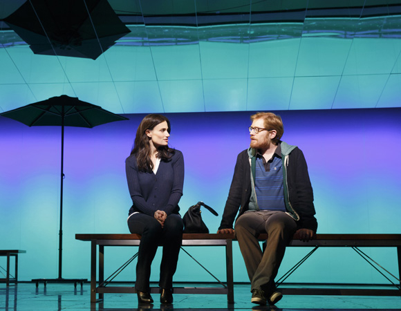 <p>Former <em>Rent</em> castmates Idina Menzel and Anthony Rapp reunite in Tom Kitt and Brian Yorkey&#39&#x3B;s <em>If/Then</em>.</p><br />Joan Marcus