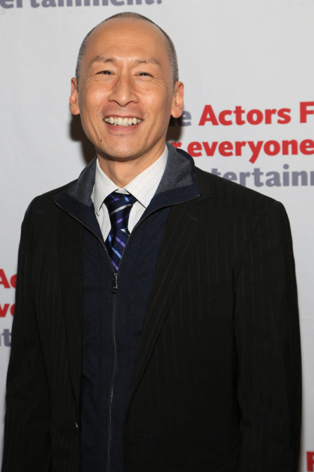 <p>Francis Jue walked the red carpet.</p><br />(© Tricia Baron)