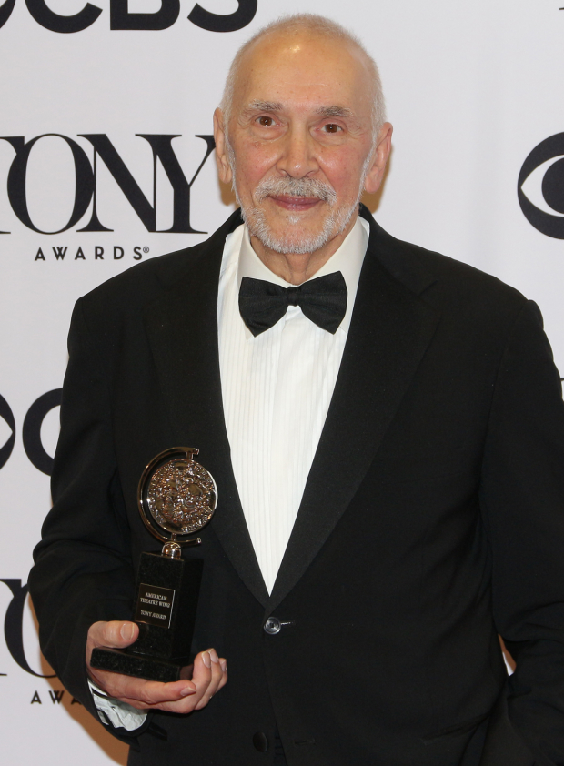 <p>Frank Langella, Best Actor in a Play winner for <em>The Father</em>.</p><br />(© David Gordon)