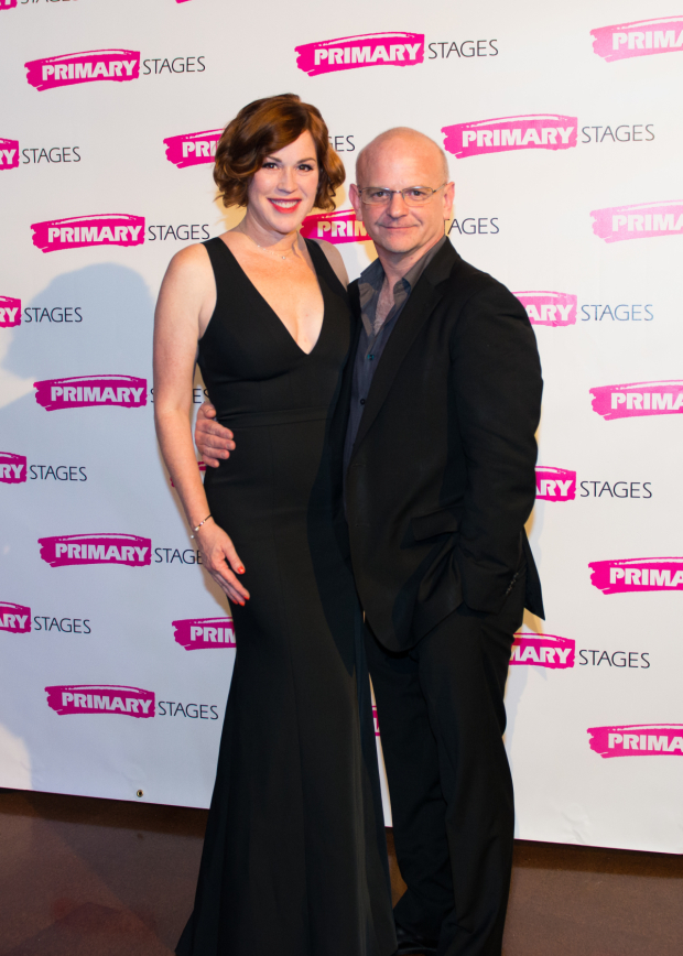 <p>Frequent Foote director Michael Wilson poses with guest Molly Ringwald.</p><br />(© Allison Stock)