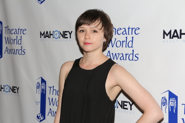 <p><em>Fun Home</em> star Emily Skeggs is on hand for this year&#39&#x3B;s Theatre World Awards.</p><br />(© David Gordon)
