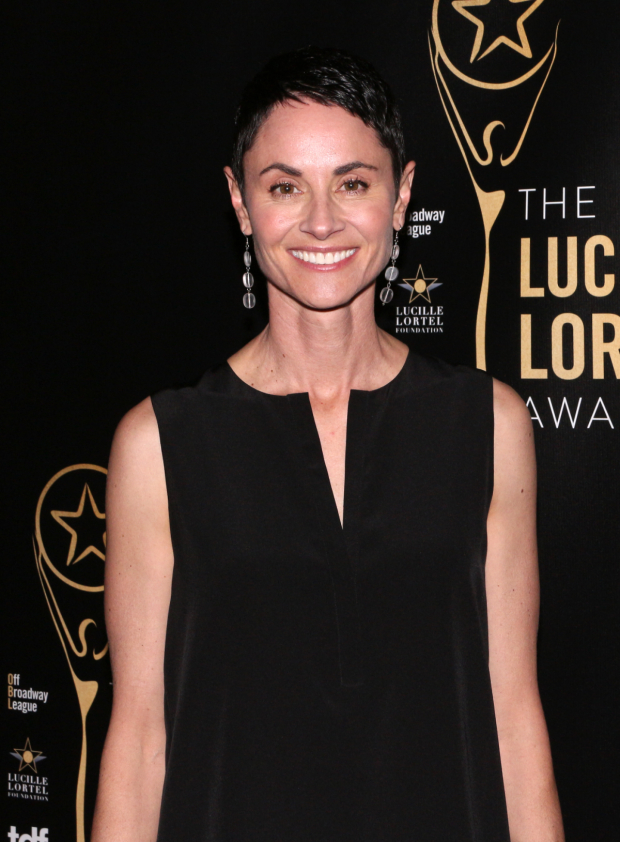 <p><em>Fun Home</em> Tony nominee Beth Malone led the &quot&#x3B;In Memoriam&quot&#x3B; sequence by singing &quot&#x3B;Lay Down Your Head&quot&#x3B; from <em>Violet</em>.</p><br />(© David Gordon)