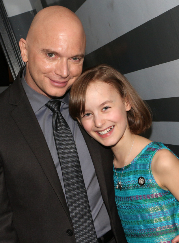 <p><em>Fun Home</em>&#39&#x3B;s Michael Cerveris and Sydney Lucas are Broadway&#39&#x3B;s latest adorable onstage daddy-daughter team.</p><br />(© David Gordon)