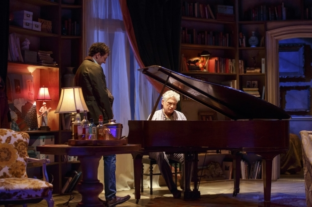 <p>Gabriel Ebert and Harvey Fierstein share a scene.</p><br />(© Joan Marcus)