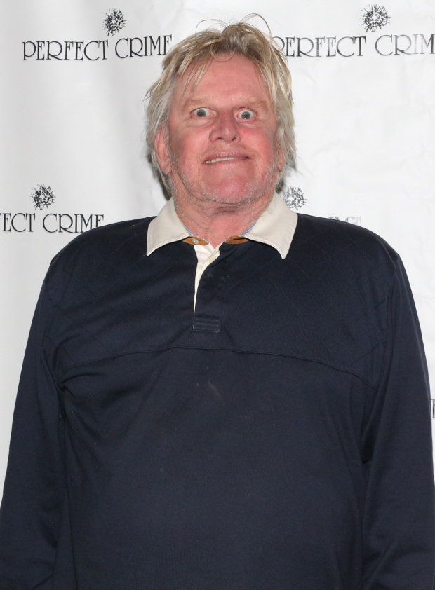<p>Gary Busey poses for a fun photo.</p><br />(© David Gordon)