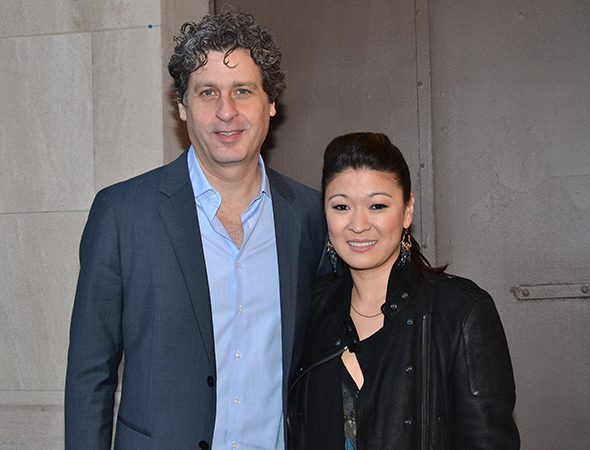 <p>Gary Wilmes and Jennifer Lim starred in David Henry Hwang&#39&#x3B;s <em>Chinglish</em> on Broadway in 2011.</p><br />(© David Gordon)