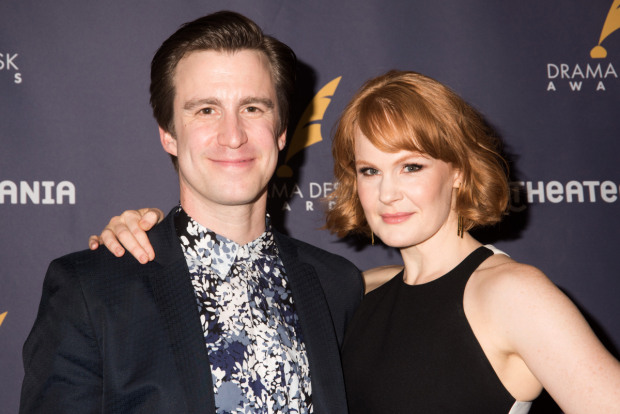 <p>Gavin Creel and Kate Baldwin, nominees for <em>Hello, Dolly!</em></p><br />(© Monica Simoes)