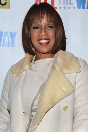 <p>Gayle King would never miss a Broadway opening night.</p><br />(© David Gordon)