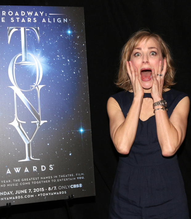 <p>Geneva Carr, Best Leading Actress in a Play nominee for <em>Hand to God</em>.</p><br />(© David Gordon)
