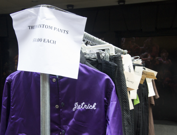 <p>Get some pants worn by the actors who&#39&#x3B;ve played the Phantom on Broadway.</p><br />(© David Gordon)