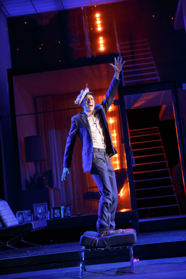 <p>Gideon Glick puts on a show as Jordan in Broadway&#39&#x3B;s <em>Significant Other</em>.</p><br />(© Joan Marcus)
