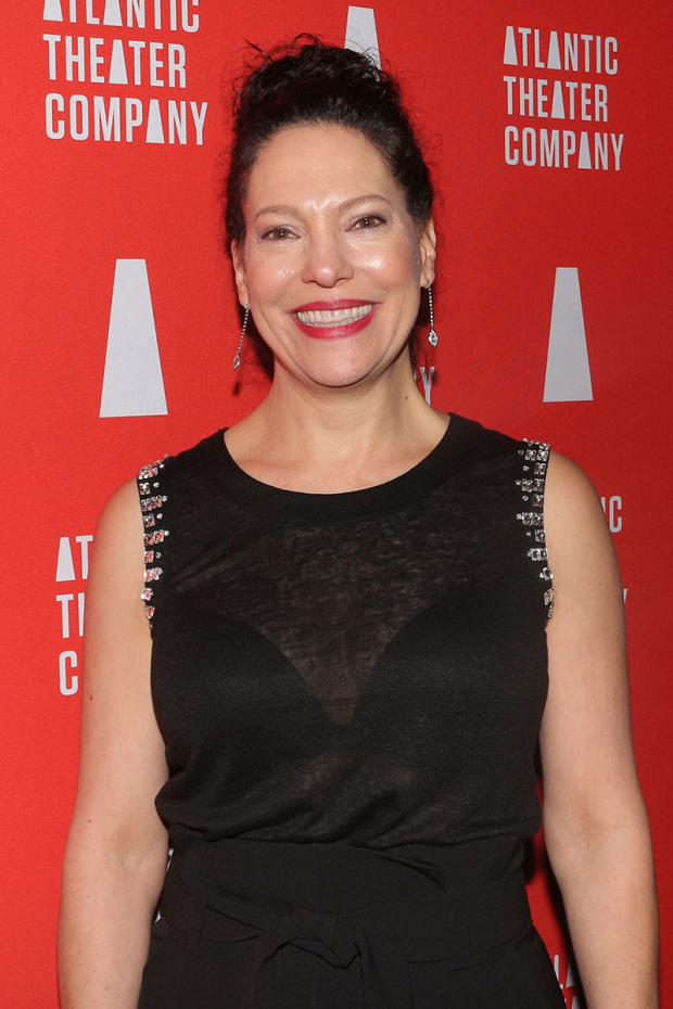 <p>Giovanna Sardelli was beaming after a successful opening night.</p><br />(© David Gordon)
