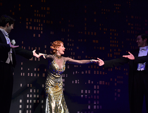 <p>Give it up for Marin Mazzie!</p><br />(© David Gordon)