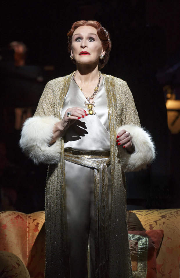 <p>Glenn Close returns to the role she originated in <em>Sunset Boulevard</em>, directed by Lonny Price at the Palace Theatre.</p><br />(© Joan Marcus)