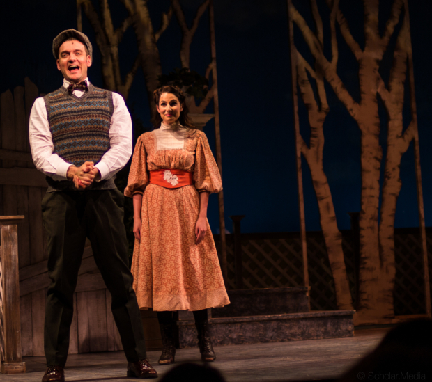 <p>Glenn Seven Allen and Rachel Zatcoff in a scene from Bryna Wasserman and Motl Didner&#39&#x3B;s production.</p><br />(© Justin Scholar)