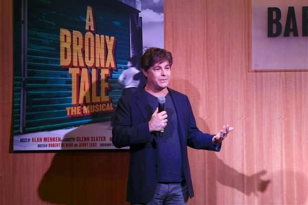 <p>Glenn Slater spoke at the event.</p><br />(© Tricia Baron)