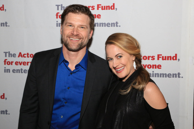 <p>Gregg Goodbrod and Mamie Parris walk the red carpet.</p><br />(© Tricia Baron)