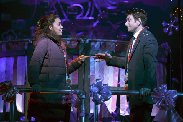 <p><em>Groundhog Day</em> comes to Broadway after a successful run on London&#39&#x3B;s West End.</p><br />(© Joan Marcus)