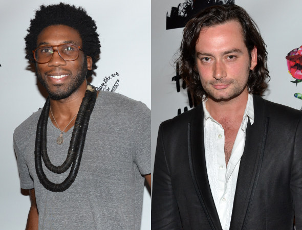 <p>Guests also included actors Nyambi Nyambi and Constantine Maroulis.</p><br />(© David Gordon)