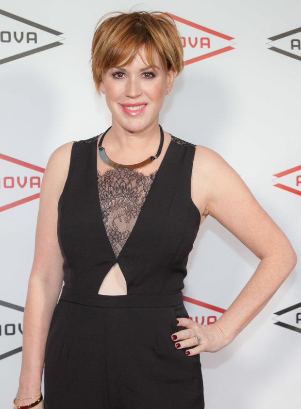 <p>Guests at Ars Nova&#39&#x3B;s gala also included Brat Pack icon Molly Ringwald.</p><br />(© Seth Walters)