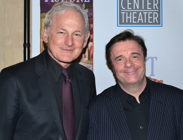 <p>Guests at the after-party included theater greats Victor Garber and Nathan Lane.</p><br />(© David Gordon)