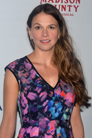 <p>Guests at the celebration included Sutton Foster, who was on hand to root for her brother, cast member Hunter Foster.</p><br />(© David Gordon)