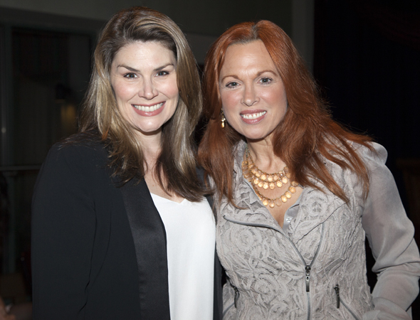 <p>Guests at the event included Broadway veterans Heidi Blickenstaff and Carolee Carmello.</p><br />(© Seth Walters)