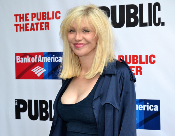 <p>Guests at the gala celebration included singer Courtney Love.</p><br />(©  David Gordon)
