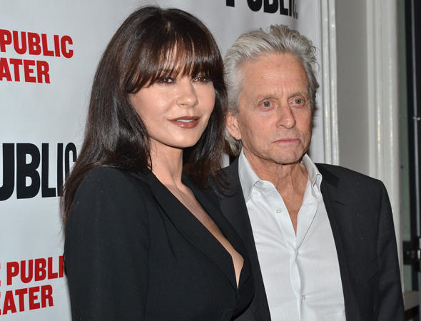 <p>Guests at the opening included Oscar winners Catherine Zeta-Jones and Michael Douglas.</p><br />(© David Gordon)