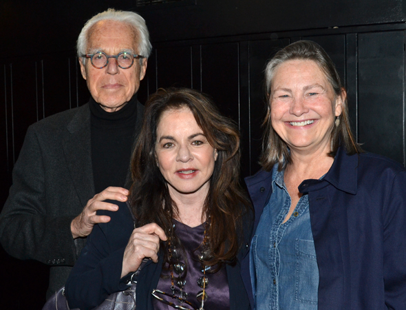 <p>Guests at the opening included playwright John Guare and actors Stockard Channing and Cherry Jones.</p><br />(© David Gordon)