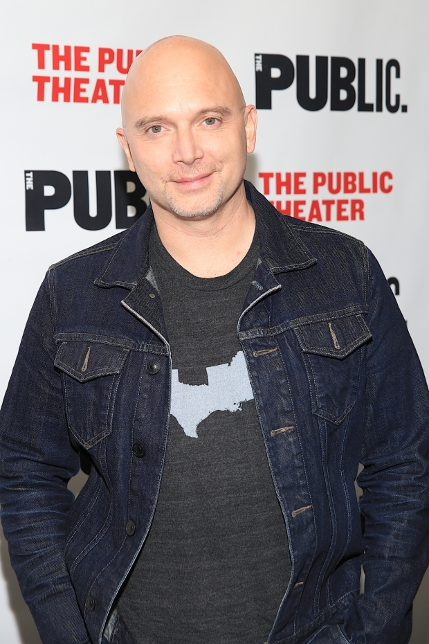 <p>Guests at the opening-night celebration included two-time Tony winner Michael Cerveris.</p><br />(© Tricia Baron)