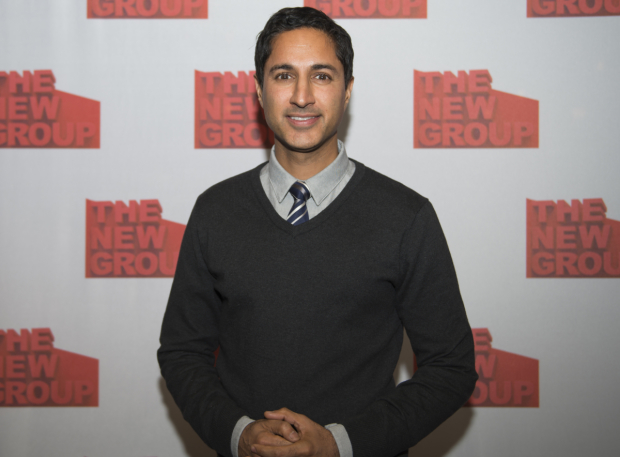 <p>Guests at the opening-night festivities included <em>30 Rock</em> favorite Maulik Pancholy.</p><br />(© Allison Stock)