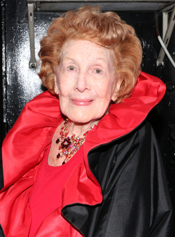<p>Guests at the opening-night festivities included 98-year-old Shannon Bolin, who played Meg Boyd in both the original Broadway production and film version of <em>Damn Yankees</em>.</p><br />(© David Gordon)