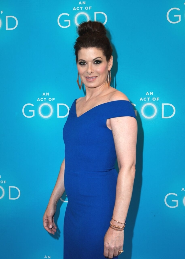 <p>Guests at the opening night festivities included Debra Messing, who starred with leading man Sean Hayes on <em>Will &amp&#x3B; Grace</em>.</p><br />(© Allison Stock)
