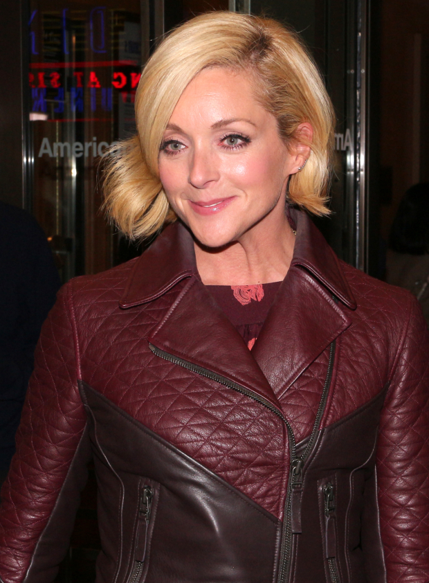 <p>Guests at the opening-night festivities included Jane Krakowski, who starred with <em>Old Times</em> director Douglas Hodge in a West End revival of <em>Guys and Dolls</em>.</p><br />(© David Gordon)