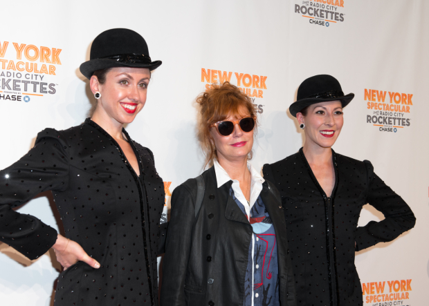 <p>Guests at the opening-night festivities included Oscar winner Susan Sarandon (center).</p><br />(© Allison Stock)